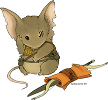 Mouse Guard commission by Axolotl-mafia