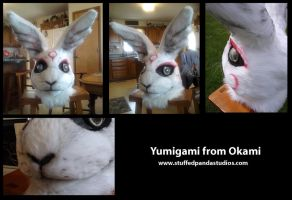 Yumigami Fursuit Head by stuffedpanda-cosplay