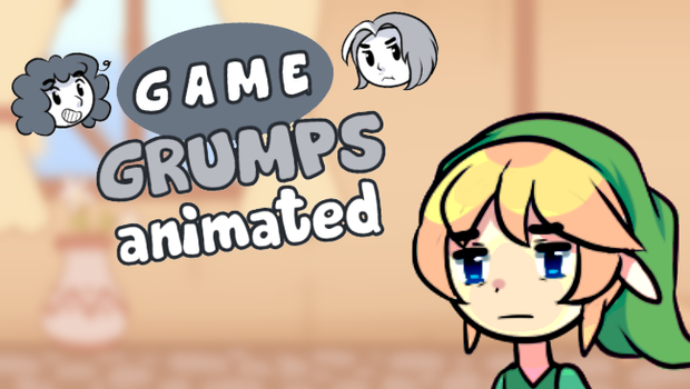 Game Grumps Animated - Dead Grandma by pekou
