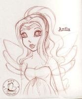 Anila First Princess of Aria by KittMouri