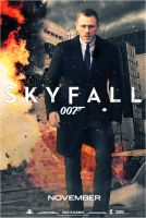 Skyfall Bond Poster by SteSmith