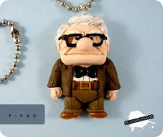 FIMO Carl Fredricksen - PIXAR UP by buzhandmade