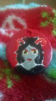 Bug Aradia Keychain by KittenMalfoy