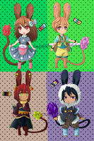 Adopts: Tonddie species set 01 (Closed) by PocketPrism