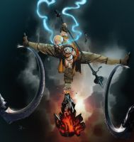 Diablo III Reaper of Souls Contest: Monk by theDougArthur