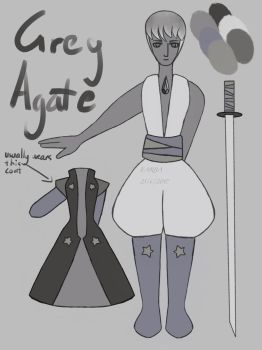 Grey Agate Reference by Doobles1