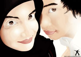 me and my love..... by REBHUZZ