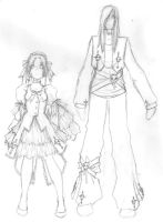 Wen Character outfit designs by Aimiya