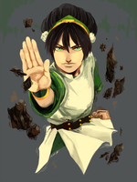 Toph by ichi-neese
