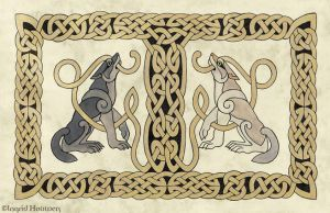 The Celtic Panel - step 7 by Illahie