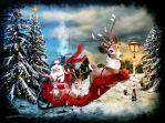 Santa Claus is Coming to Town by kimsol