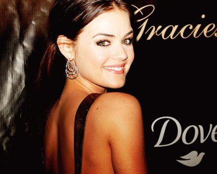 Lucy Hale. by Wonderfulwords