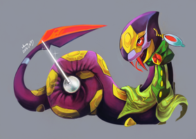 COM : Coral the Seviper by whitmoon