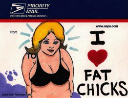 I Love Fat Chicks by HorribleBlack