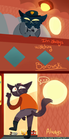 Always Watching Borowski by Trailing-Feathers