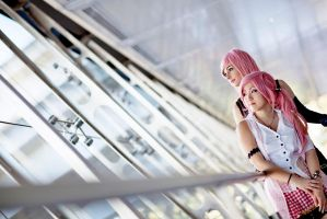 Lightning and Serah ! by CosmicNya