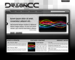 Website Design (Attempt 1) by FecarytheLion