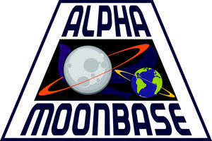 New Alpha Moonbase Logo Space: 2099 by viperaviator