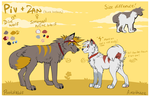 New refs for the dumbs by Amathaze