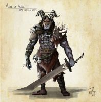 Mark of War - Custom Orc by PeopleEveryday