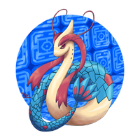 Pokedex Projekt Milotic by LuckyLucario