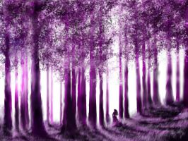forest purple... by tsad