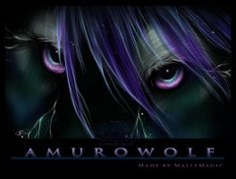 Amuro Wolf Eyes by Mallemagic