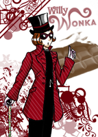WILLY WONKA by Nasuki100