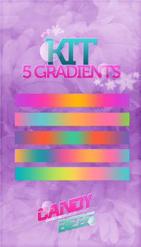 Kit 5 Gradients by CandyBiebs