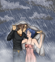Rainy day by CodeNameBlueLover