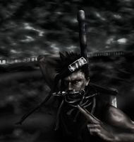 Zabuza grabs the sword... by Shibuz4