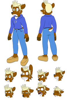 Jesse Ref Commission by SorcererLance