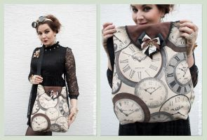 Steampunk Bag by MADmoiselleMeli