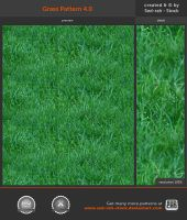 Grass Pattern 4.0 by Sed-rah-Stock