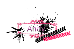 Texto png Andy by ByLadyMinaj