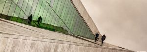 MIRRORS EDGE - NORSKE OPERA - NORGE - NORWAY by Wizardman381