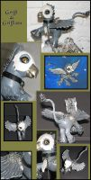 Griffy the Griffin by Lemandee
