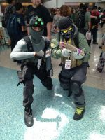Sam Fisher meets Ghost by W4RH0US3