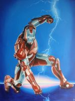 Iron Man by Cookiee1991