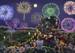 Fireworks celebration by J-C