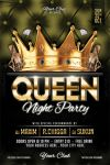 Queen Night Party Flyer Template by ayumadesign