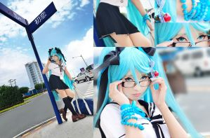 Hatsune-Miku: Our Sun-date by kuricurry