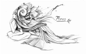 Aries by Handsomeushi