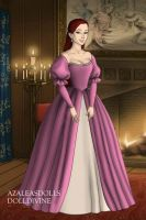 Ariel's Pink Ballgown by LadyAquanine73551