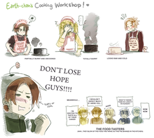 Earth-Chan's Cooking Workshop by ROSEL-D