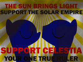 SUPPORT THE SOLAR EMPIRE by BellalyseWinchester