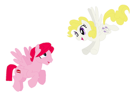 Pinkie's Parents by srbarker