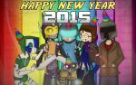 Happy New Year 2015 by RagingDroidX