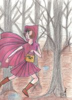 Little Red Riding Hood by FlourescentRaven
