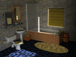 Bathroom - Heritage Class by AbhishekKr